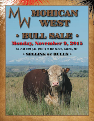 Mohican West Bull Sale November 9 - 2015